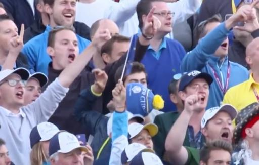 WATCH: The GREATEST European song of all time at a Ryder Cup! THIS WAS EPIC!