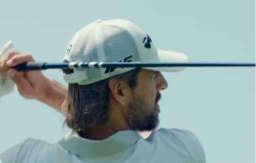 Aaron Rodgers gets TAYLORMADE FITTING ahead of The Match