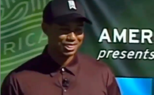 Tiger Woods describes PUTTING VISUALISATION technique in vintage footage