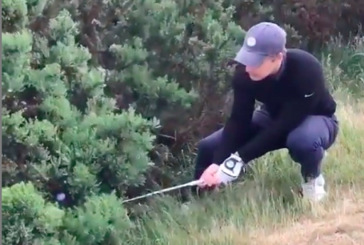 Are you penalised for hitting a moving ball in this STRANGE situation?