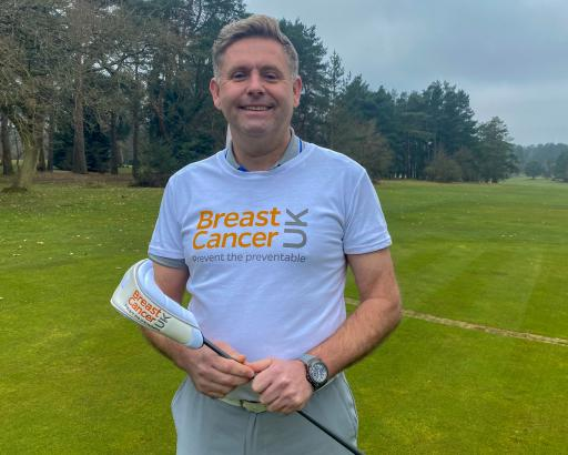 Innovative golf pro chips in to beat breast cancer