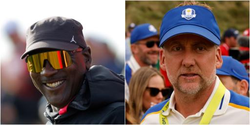 Michael Jordan: I'm not scared of ANYONE in golf...apart from Ian Poulter