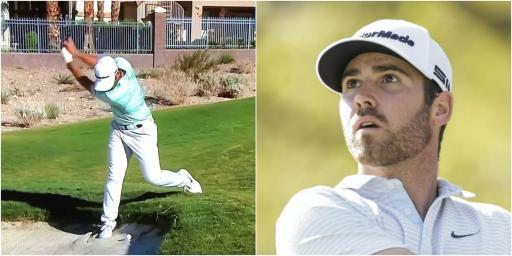 Matthew Wolff: PGA Tour pro the victim of AWFUL bunker raking at Shriners Open