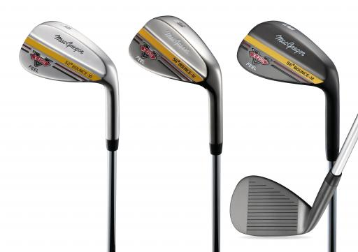 MacGregor Golf LAUNCH V Foil wedge line for firm SUMMER conditions