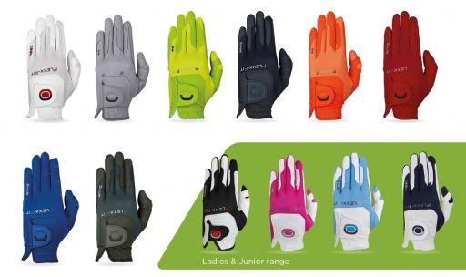 NEW golf glove colours bring style to ZOOM Weather Style line