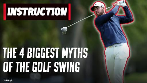 REVEALED: Exploding the 4 biggest myths of the golf swing