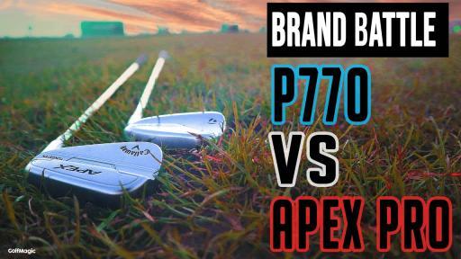 TaylorMade P770 VS NEW Callaway Apex Pro 21 | Brand Battle