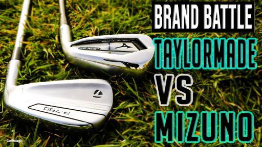 TaylorMade P790 vs Mizuno JPX 921 Hot Metal Pro   Best Irons Test!