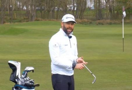 Ace your technique when attempting a PITCH shot with a wedge