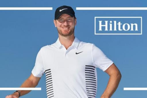 win a day in the life exprience with hilton golf ambassador chris wood