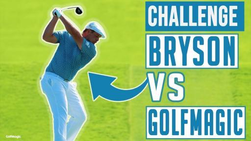 Bryson DeChambeau vs GolfMagic   Swing Speed Challenge