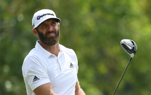 Dustin Johnson testing FIVE DRIVERS ahead of the BMW Championship