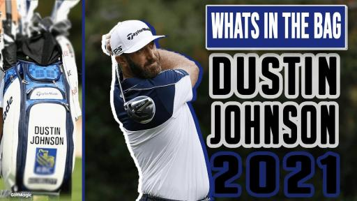 WATCH: What's In The Bag of Dustin Johnson in 2021