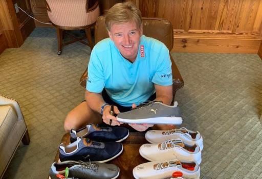 Ernie Els signs new footwear deal with PUMA Golf