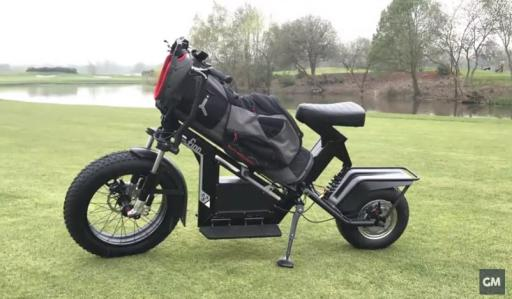 WATCH: Finn Cycle Review - the new golf motorbike speeding golf up