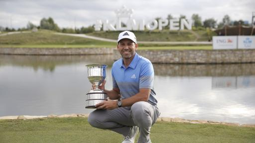 Sergio Garcia wins KLM Open - what's in the bag
