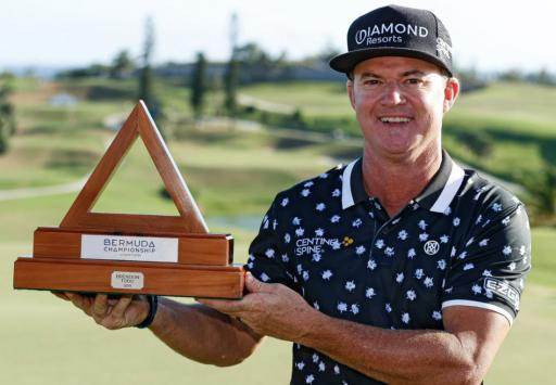 Brian Gay ends 7-year winless run with Bermuda Championship victory