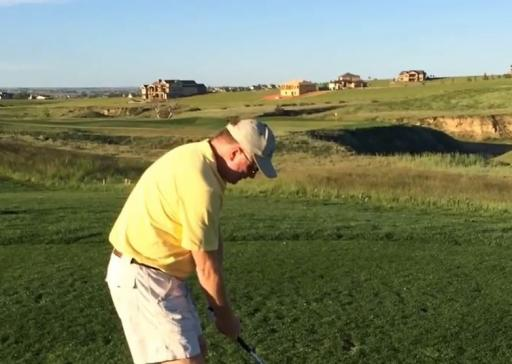 Golfer has a NIGHTMARE on par-3 after hitting over 11 shots OFF THE TEE