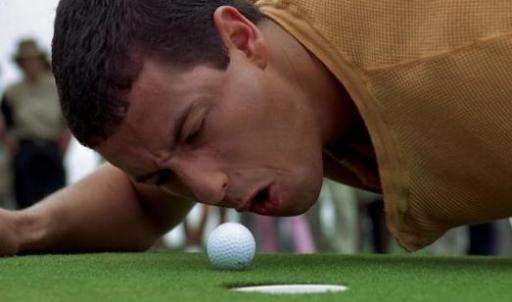 The official golf rule that Happy Gilmore could have taken at 18...