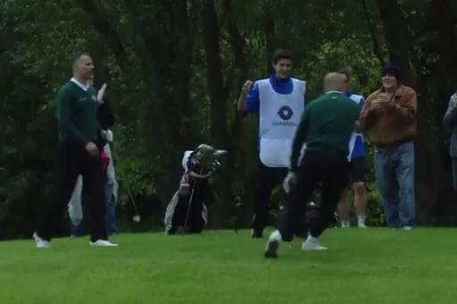 funniest moments from icons of football golf tournament