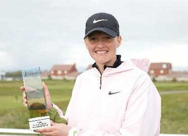 Local golf professional Gabriella Cowley wins first Rose Ladies Series event