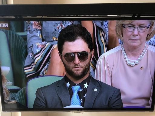 Thomas Pieters rips Jon Rahm over his Wimbledon tennis attire