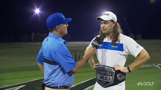 World Long Drive champion accused of cheating en route final