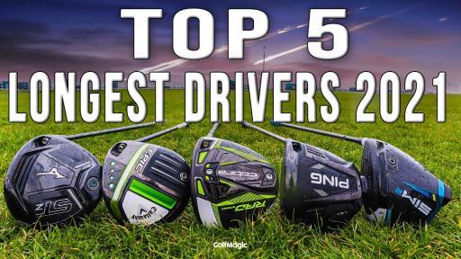 Best Golf Drivers 2021   LONGEST Drivers On PGA Tour