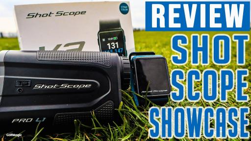 Which Shot Scope Product Is Right For You? | GOLF GPS WATCH VS RANGEFINDER