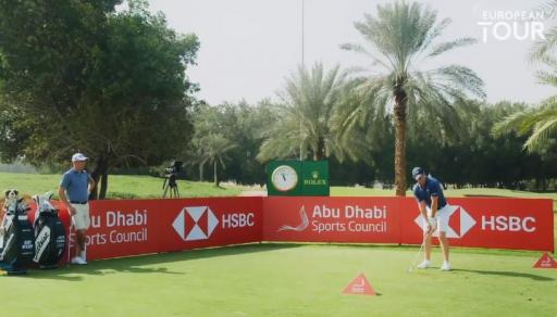Rory McIlroy and Justin Thomas attempt HOLE-IN-ONE challenge