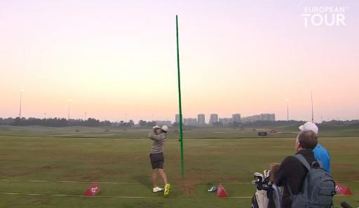 Golf fans IN AWE of European Tour video showing Rory McIlroy at the range