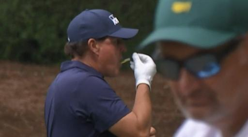 Was Phil Mickelson taking CBD oil at The Masters?