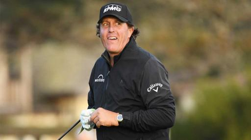 Phil Mickelson says blaming new slow play target is idiotic