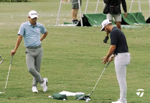PGA Tour stars Collin Morikawa and Matthew Wolff give their best bunker tips