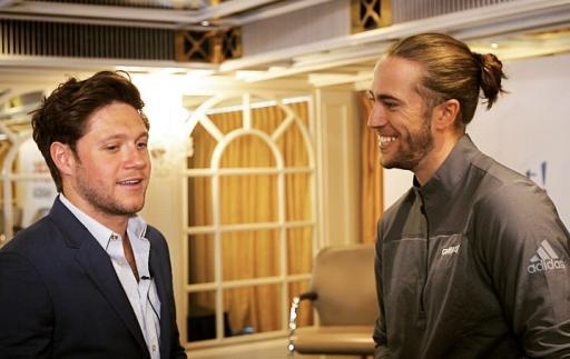 Niall Horan and GolfMagic