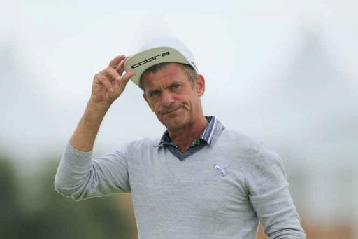 Former Ryder Cup star Jesper Parnevik TAKES OUT caddie on the Champions Tour