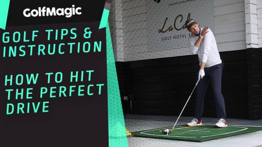 How to hit the perfect drive