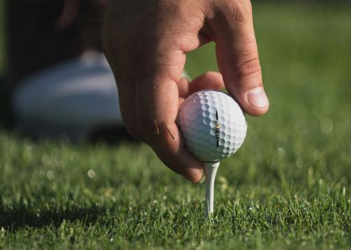 Golfer hits air shot after his ball FALLS from the tee, but what's the ruling?