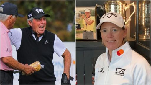 Gary Player and Annika Sorenstam SLAMMED for accepting medal from Donald Trump