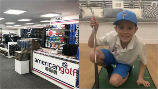 American Golf and child golf prodigy team up to keep golfers in the game