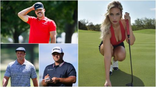 Paige Spiranac has a love-hate relationship with three top PGA Tour stars