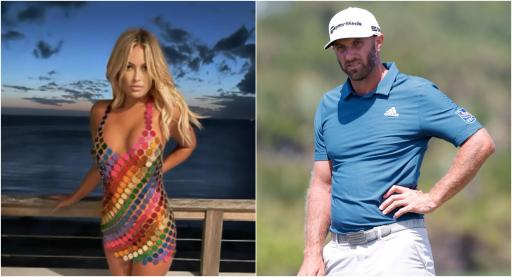 """Paulina Gretzky: """"Dustin Johnson told me ABSOLUTELY NOT to Playboy!"""""""