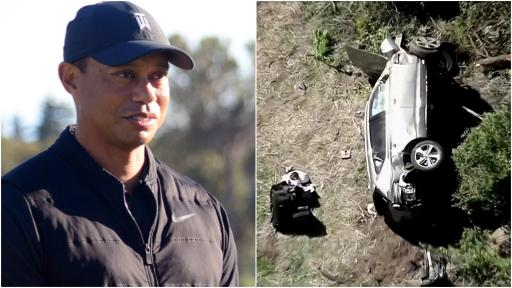 """Tiger Woods was """"agitated and impatient"""" and """"took off fast"""" before car crash"""