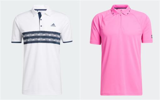The five BEST adidas Golf shirts for the 2021 season