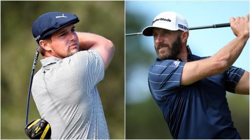 Bryson DeChambeau and Dustin Johnson set to headline Saudi International