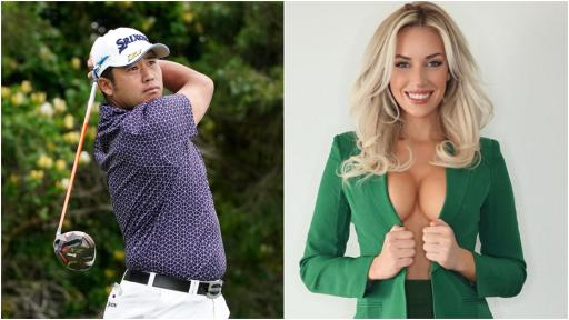 Paige Spiranac STUNNED by racism accusations over Hideki Matsuyama tweet