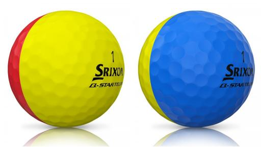 Srixon Q-STAR TOUR DIVIDE golf balls - start seeing DOUBLE!