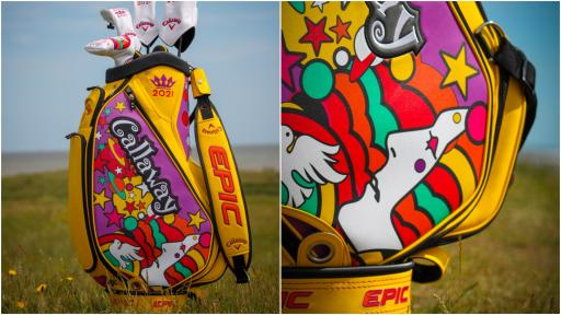 WIN the limited edition Callaway Open Championship Tour Bag!