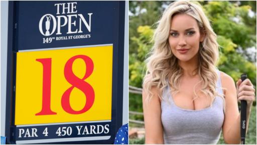 """Paige Spiranac: """"DO NOT call it British Open because golf people will get mad!"""""""
