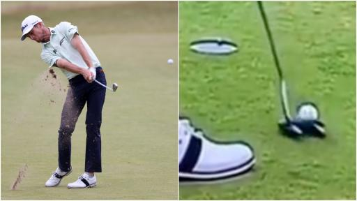 Will Zalatoris with the BEST and WORST shots of day one at The Open!